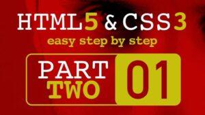 HTML CSS الجزء الثاني مع