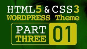 HTML CSS الجزء الثالث مع